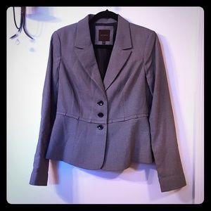🌹EUC🌹 M The Limited black/white check blazer